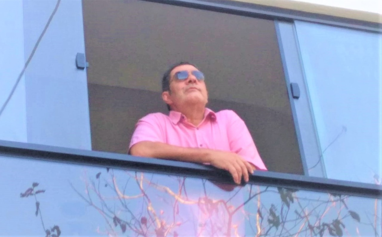 O radialista Fernando Ventura Júnior