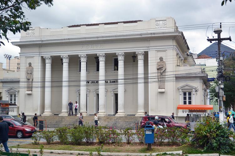 O antigo Fórum, onde será realizada a diplomação dos eleitos (Arquivo AVS/ Henrique Pinheiro)