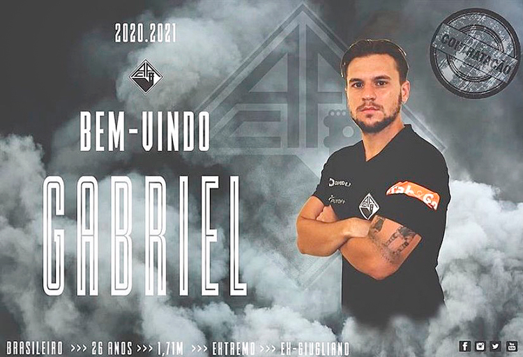 Novo desafio na carreira de Gabriel será em Portugal