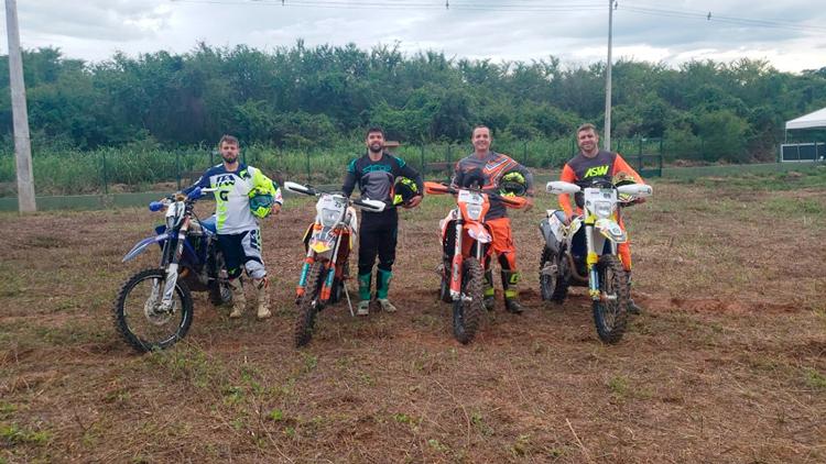 Trio friburguense participa do 34º Rally Piocerá