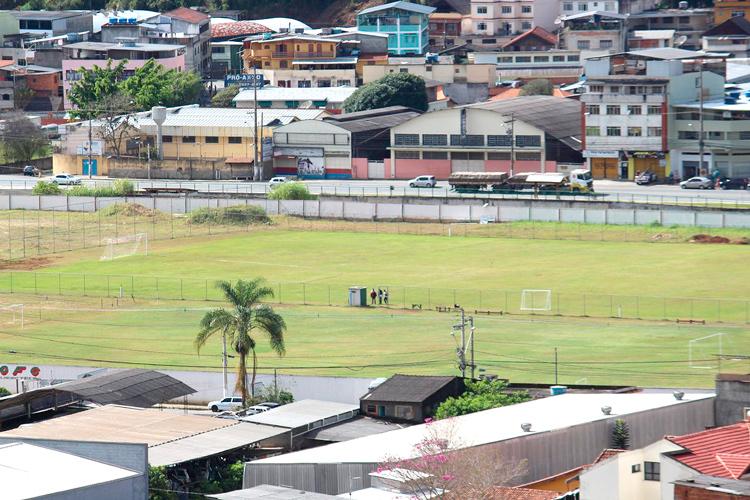 O Centro de Treinamento do clube, no distrito de Conselheiro Paulino