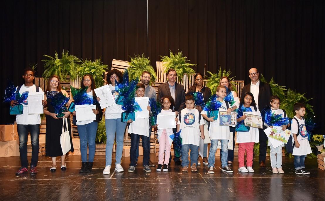 Os alunos premiados (Fotos: Divulgação/ Daniel Marcus)