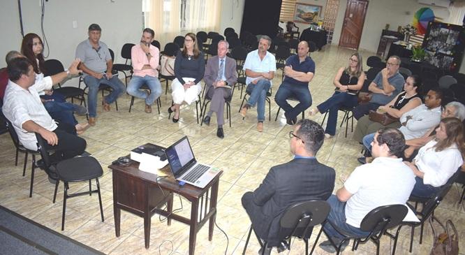 Primeira reunião do CIS-Serra nesta gestão aconteceu no Centro Ione Pecly
