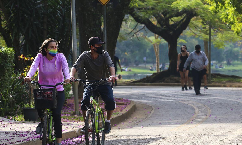 Incentivo às atividades físicas é o conteúdo do Guia lançado pelo Ministério da Saúde (crédito Rovena Rosa / Agência Brasil)