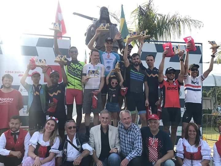 Vencedores foram premiados com troféus: quarta edição da Route MTB foi sucesso
