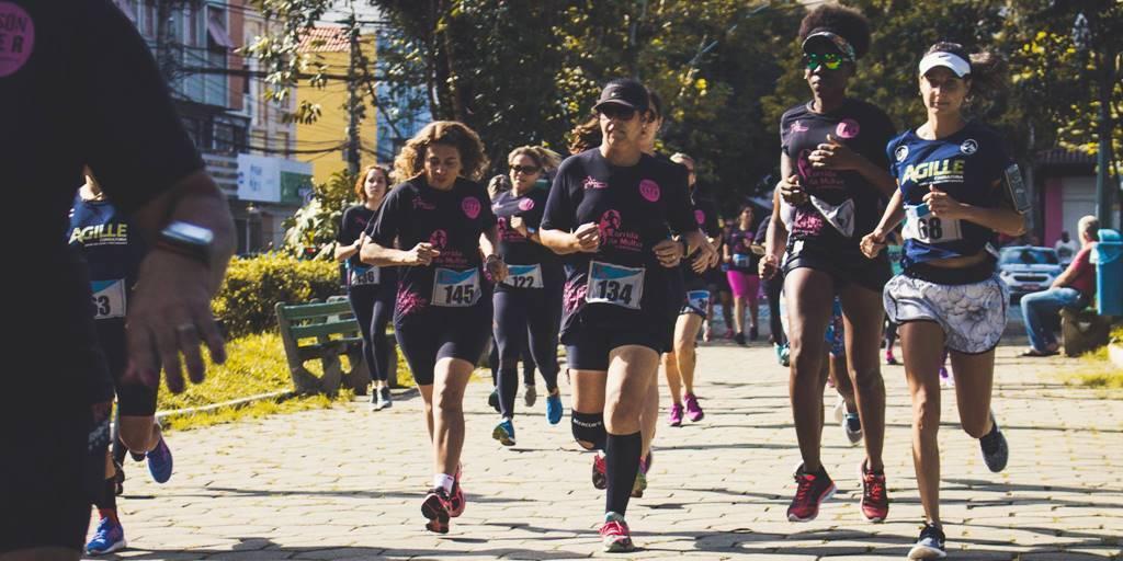 Corrida da Mulher foi a única promovida em Nova Friburgo, dias antes do início do isolamento social