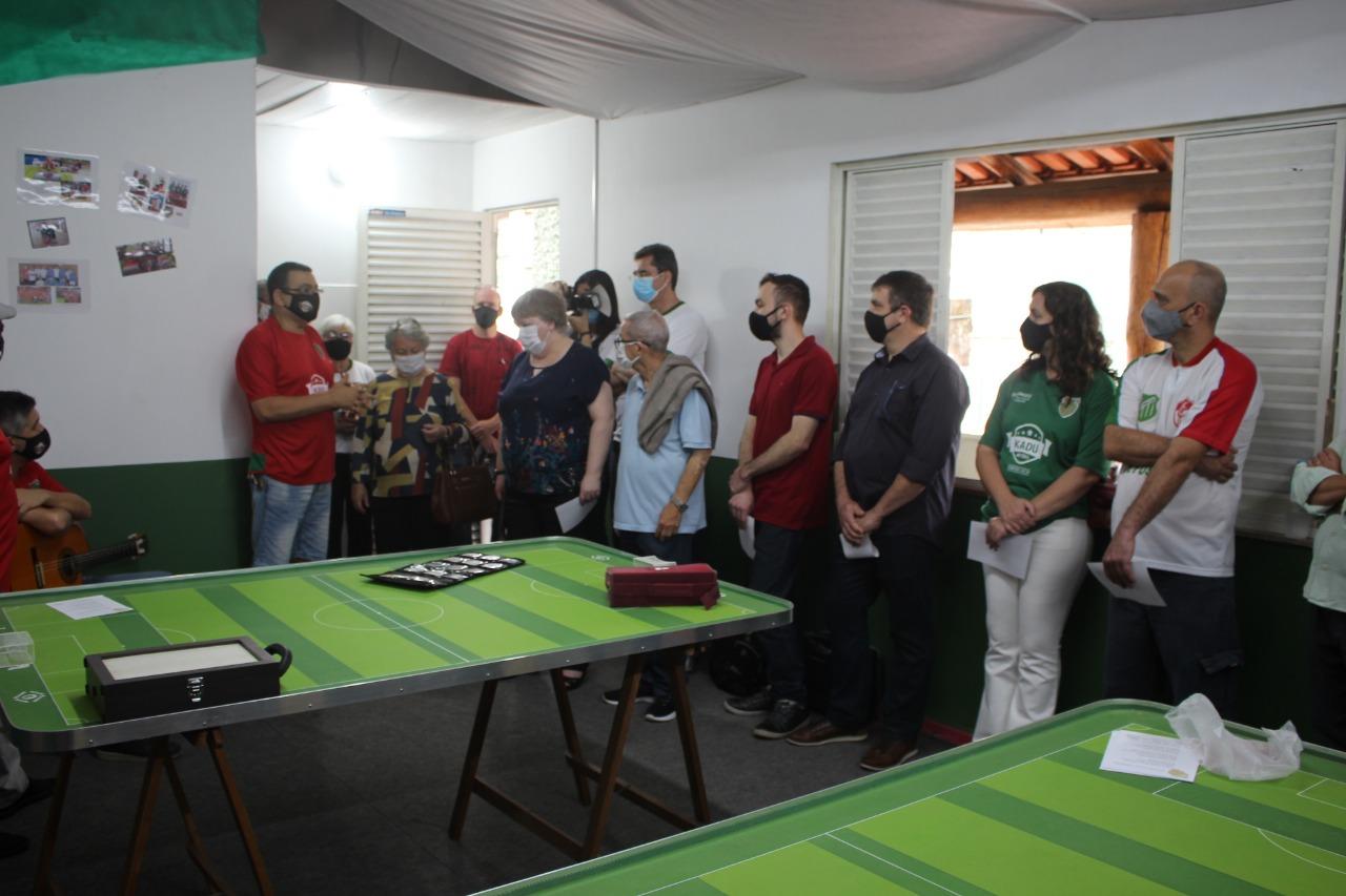 Após a inauguração, torneio interno foi realizado para marcar o momento histórico