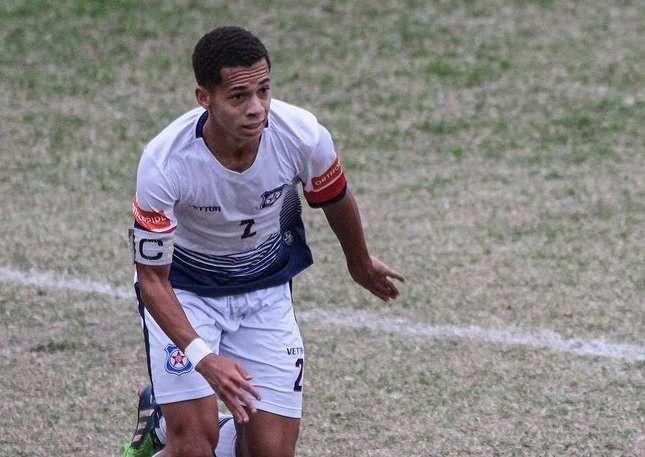 Filho de Sérgio Gomes, lateral Igor é capitão e um dos destaques do Sub-20 tricolor
