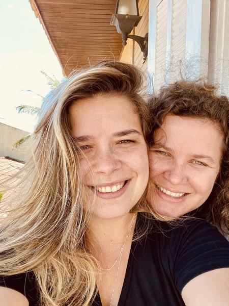 Renata Lobo e Marcela Souza