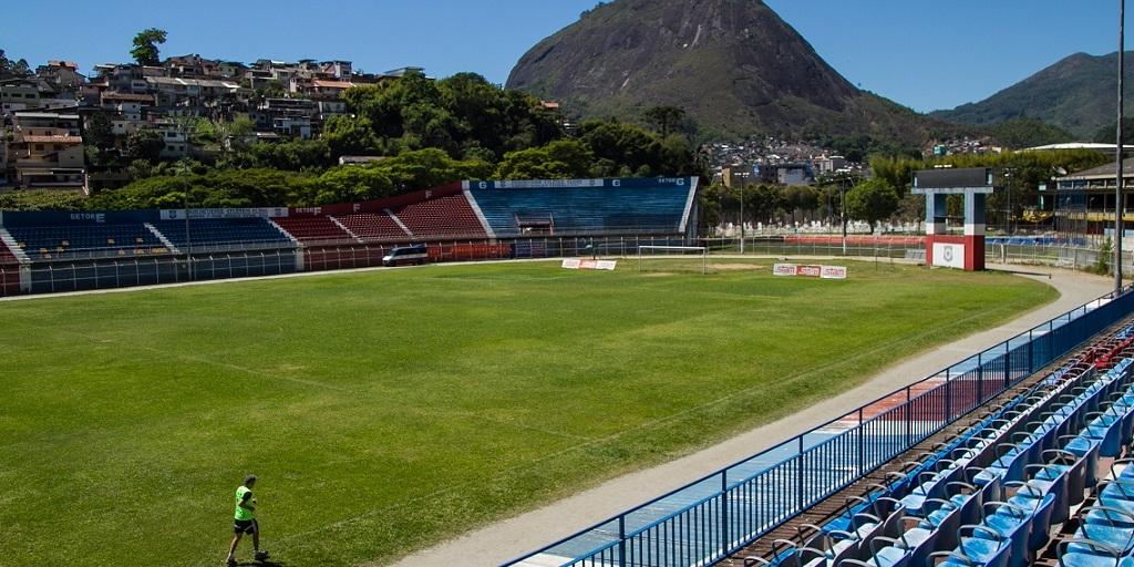 O Estádio Eduardo Guinle