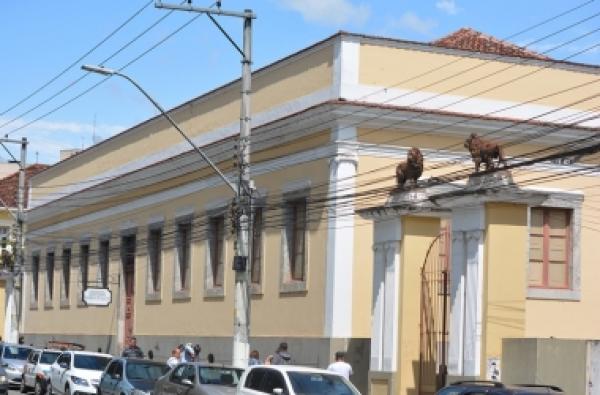 A sede da Fundação Dom João VI, na Praça Getúlio Vargas (Arquivo AVS)