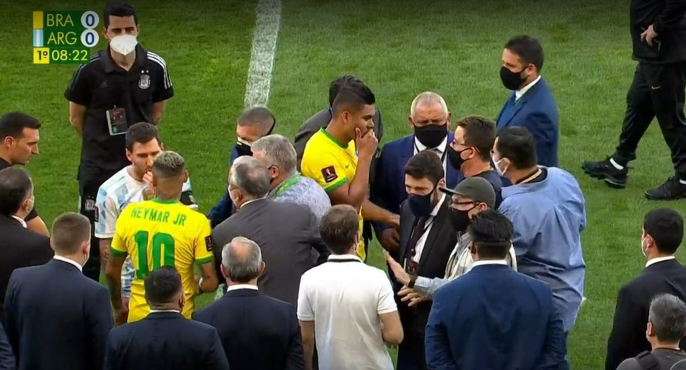 A partida paralisada (Foto: O Globo)