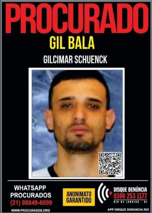 Gil Bala: procurado e agora morto