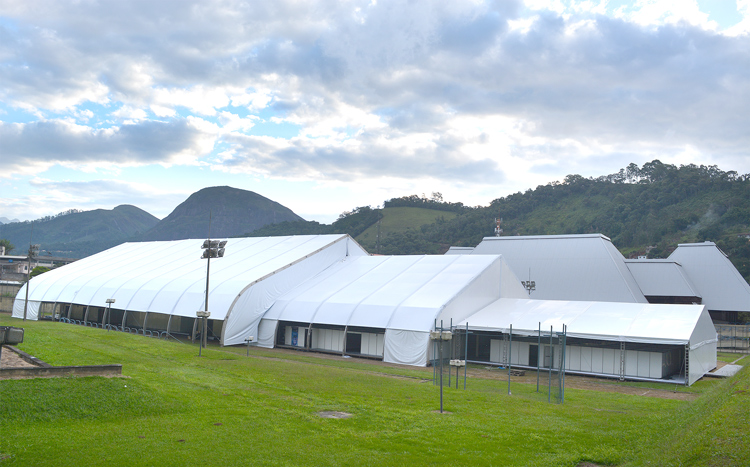 O hospital de campanha de Friburgo: elefante branco (Arquivo AVS/ Henrique Pinheiro)