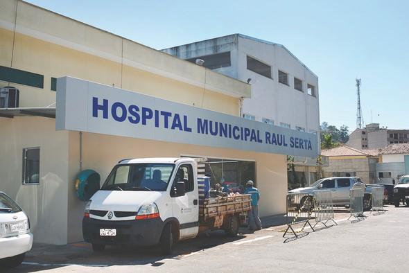 O Hospital Municipal Raul Sertã (Arquivo AVS/ Henrique Pinheiro)