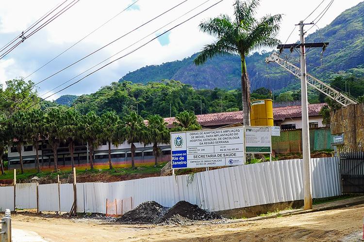 As obras paradas do Hospital do Câncer (Arquivo AVS/ Henrique Pinheiro)