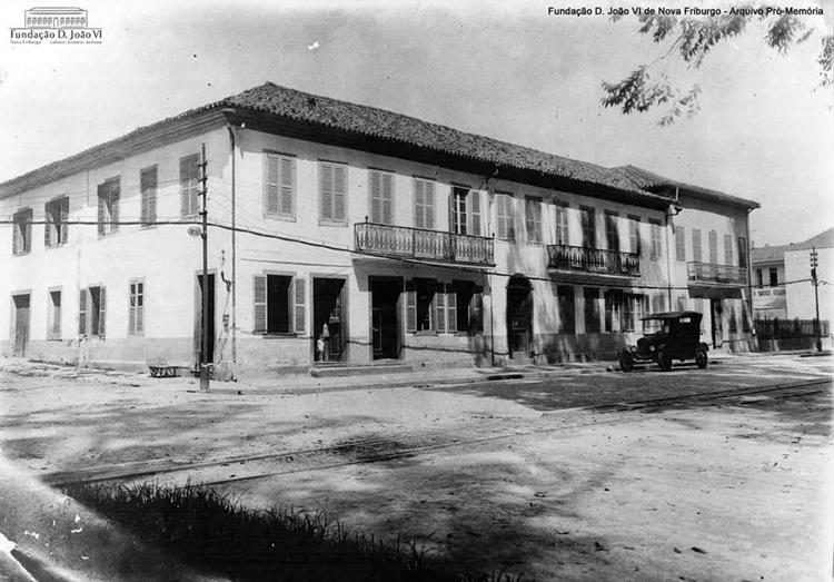 O antigo Hotel Salusse, onde Machado de Assis esteve hospedado em 1878