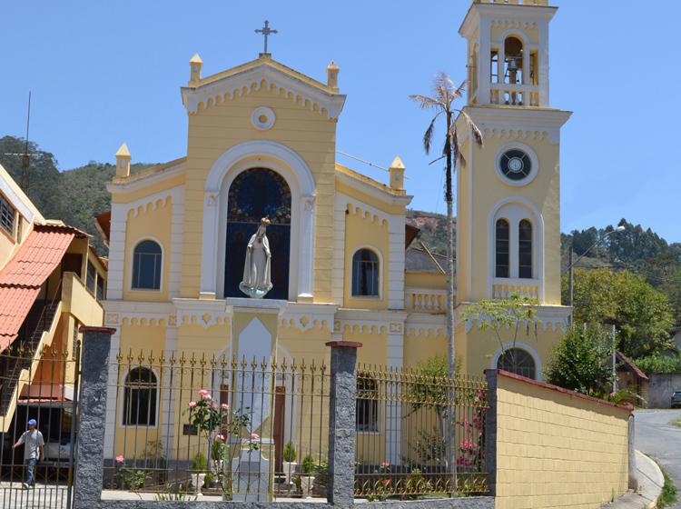 A igreja de Duas Pedras (Arquivo AVS/ Henrique Pinheiro)