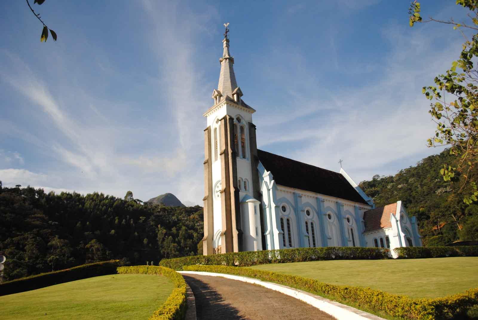A igreja de Santa Maria Madalena (Reprodução da web)
