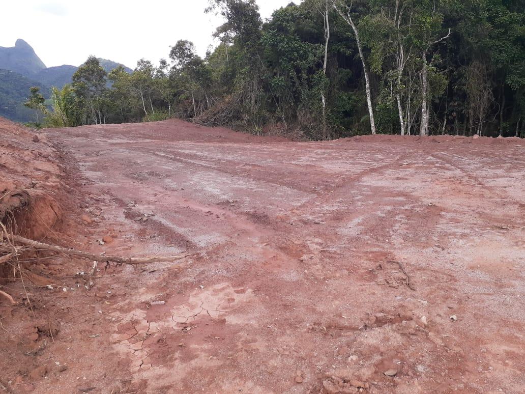 A abertura ilegal da estrada (Foto de divulgação)
