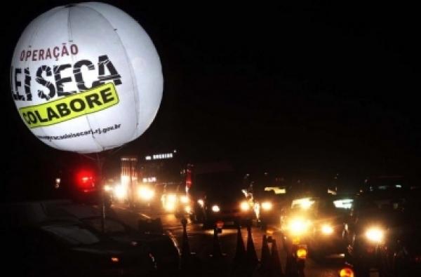 Operação Lei Seca intensifica ações nesta Semana Nacional do Trânsito
