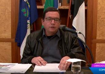 O prefeito Renato Bravo (Arquivo AVS)