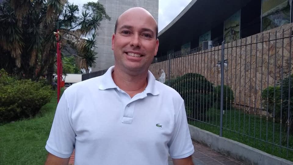 Marcelo Soares, o novo subprefeito de Olaria