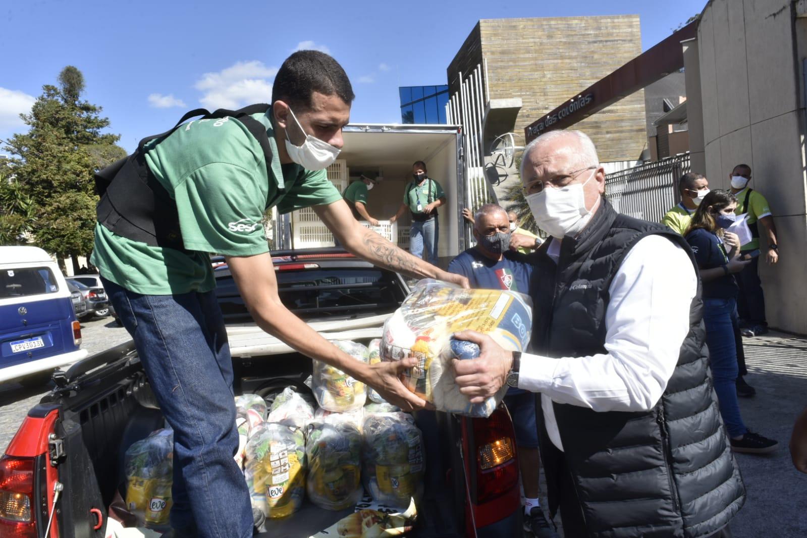 Braulio Rezende é o embaixador do programa de segurança alimentar em Nova Friburgo e região (Divulgação Sesc/ Helio Melo)
