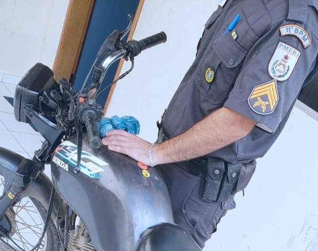 Motocicleta furtada em Laranjais é recuperada em distrito de Cantagalo