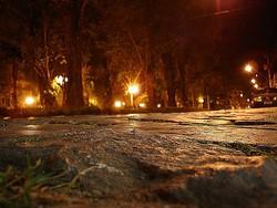 A Praça Getúlio Vargas à noite (reprodução da web)