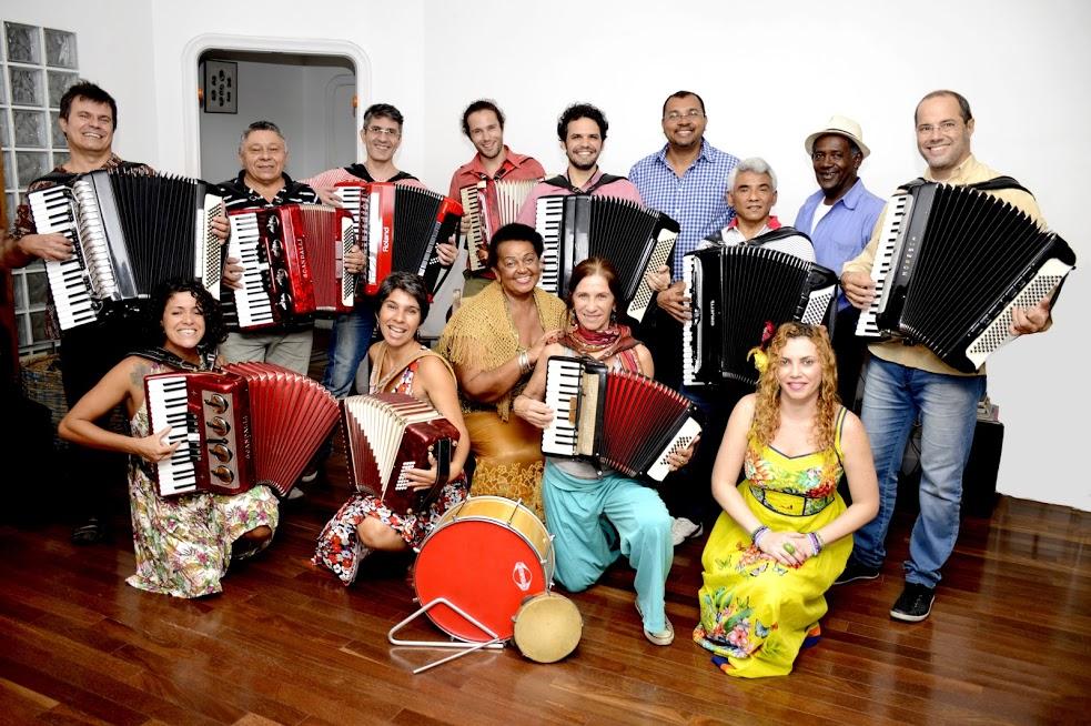 Orquestra Sanfônica do Rio prestigia os Sanfoneiros da Serra