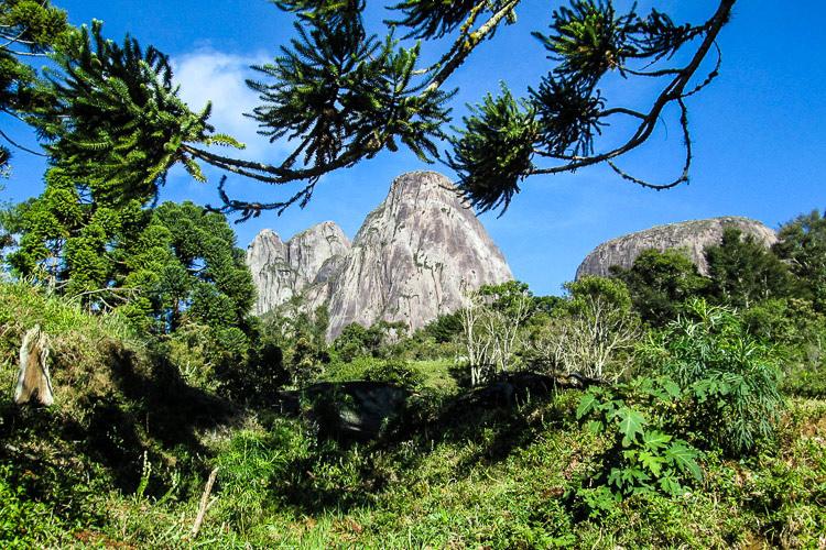 Os Três Picos (Foto: Gabriel Ludolf)