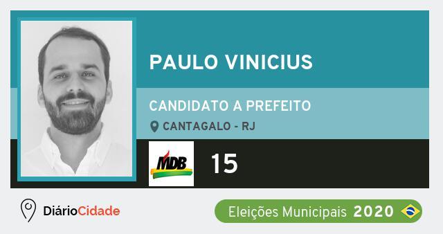 Paulo Vinicius recorre e mantém candidatura em Cantagalo