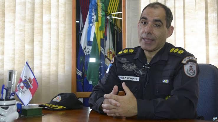 O coronel Paulo Roberto das Neves Junior: apenas um ano em Friburgo (Arquivo AVS/ Henrique Pinheiro)