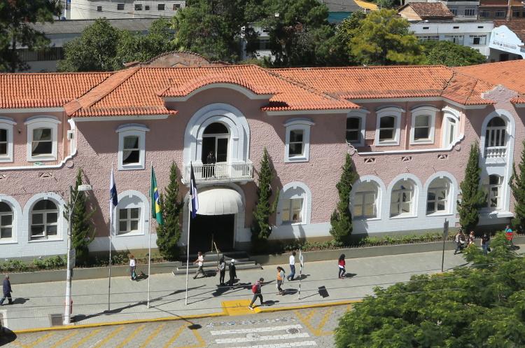 O Palácio Barão de Nova Friburgo, sede do governo municipal (Arquivo AVS/ Henrique Pinheiro)