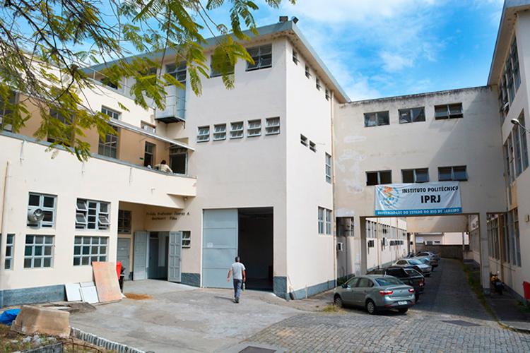 Em Friburgo, a Uerj funciona em um dos blocos da Fábrica Filó, onde está o Instituto Politécnico do Rio de Janeiro, o IPRJ (Foto: Henrique Pinheiro)