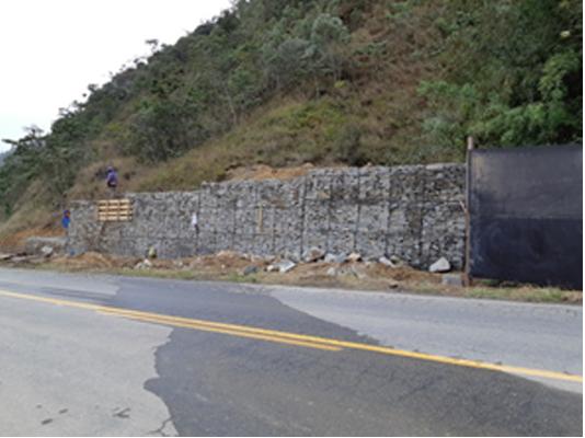 A obra na Serramar (Fotos de divulgação)