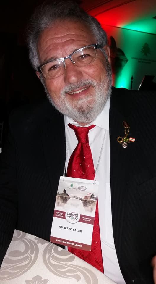 Gilberto Sader, um dos membros do Lions de Friburgo, ajudou a organizar a ação humanitária (Arquivo pessoal)