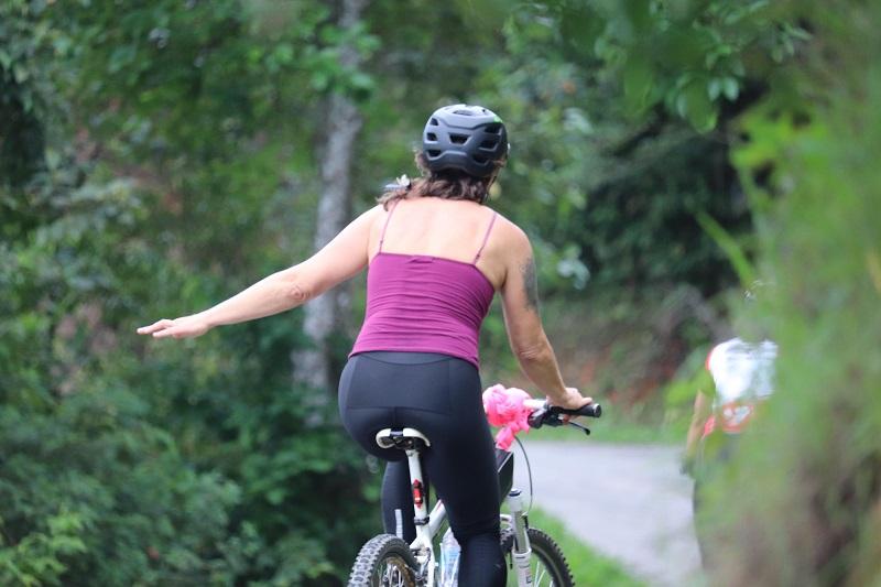 Fotos: Pedal Feminino de Lumiar
