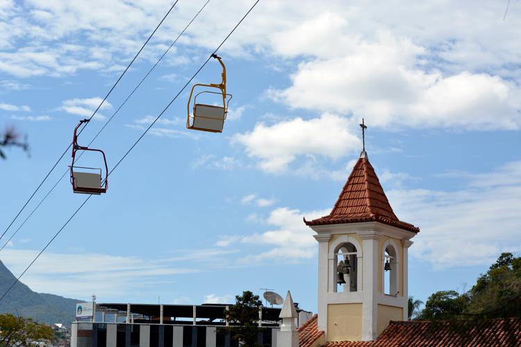 Teleférico, uma das principais atrações turísticas de Nova Friburgo (Foto: Henrique Pinheiro)