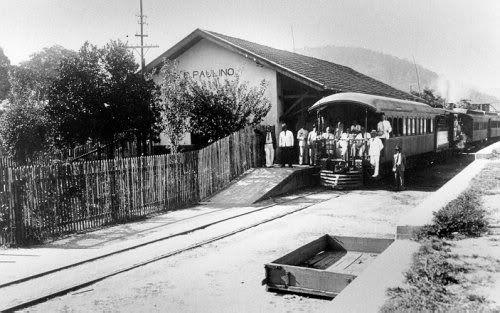 Estação de trem de Conselheiro Paulino (Arquivo AVS)