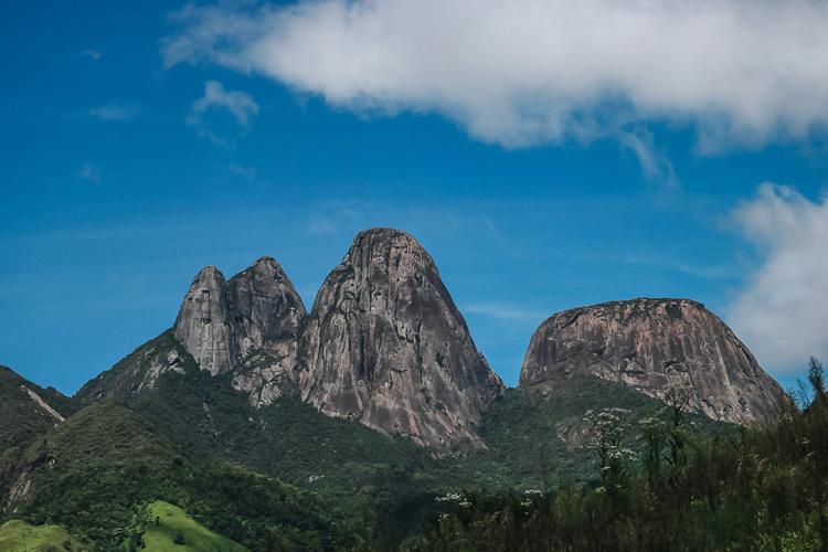 Os Três Picos (Foto: Thiago Lima)
