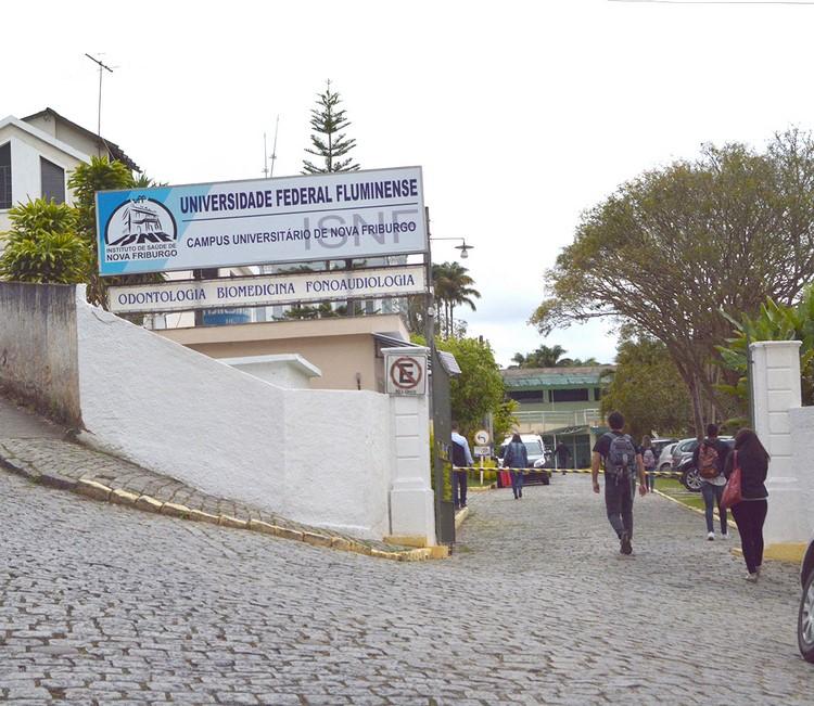 A UFF de Nova Friburgo (Arquivo AVS)