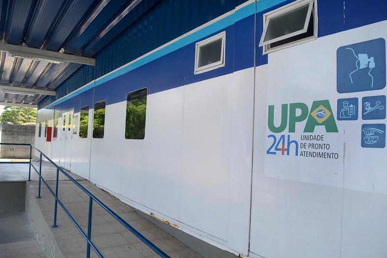 A UPA de Conselheiro Paulino  (Foto: Henrique Pinheiro)
