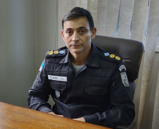 O tenente-coronel Flávio Henrique dos Santos Pires: