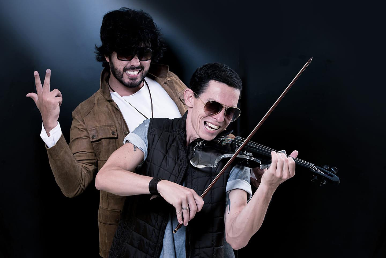 O violinista Allyson Campos é um dos destaques