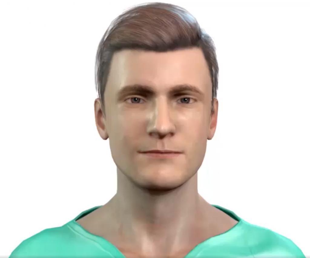 O enfermeiro virtual (reprodução da web)