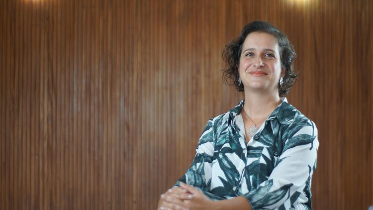 A secretária de Meio Ambiente, Vívian Alves de Assis