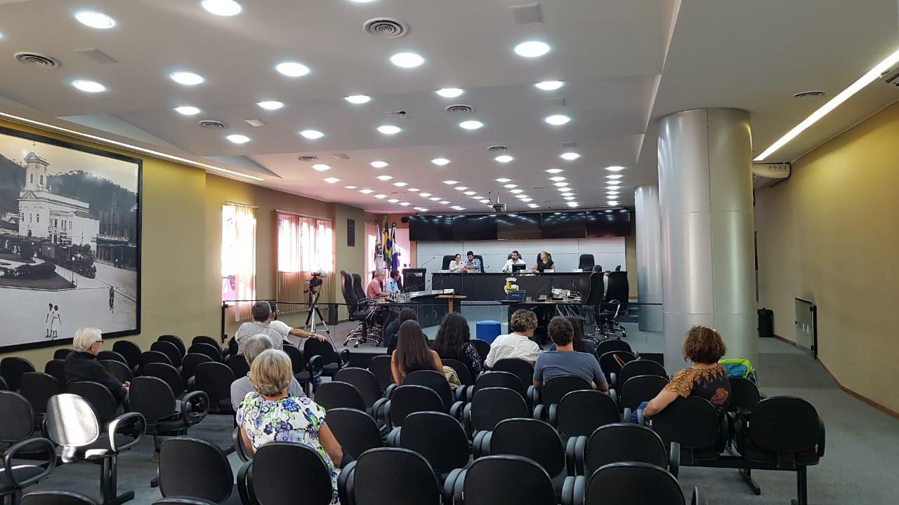 A audiência na última segunda (Foto: Alerrandre Barros)