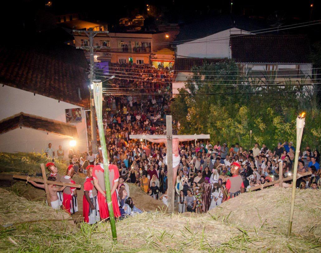 Paixão de Cristo deve reunir mais de duas mil pessoas em Monnerat